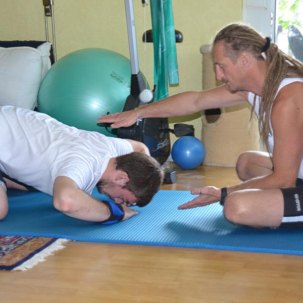 Rückentherapie - Der Wirbelsäulentrainer