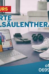 Onlinekurs Geführte Wirbelsäulentherapie - Der Kurs gegen Rückenschmerzen!